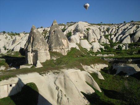 Cappadocia, Anatolie, Hot-air Ballooning, Wren