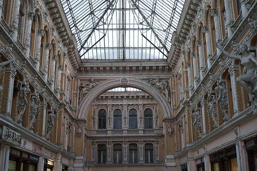 Odessa, Passage, Ukraine, Structure, On, Architecture
