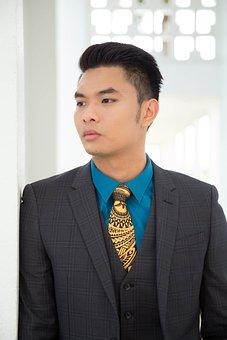 Asian, Man, Modesty, Adult, Asian Man, Lifestyle