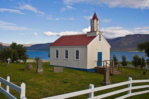Church, Iceland, Scenic, West, Coast, Isolated, Lonely