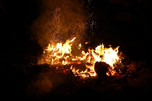 Fire, An Outbreak Of, Flames