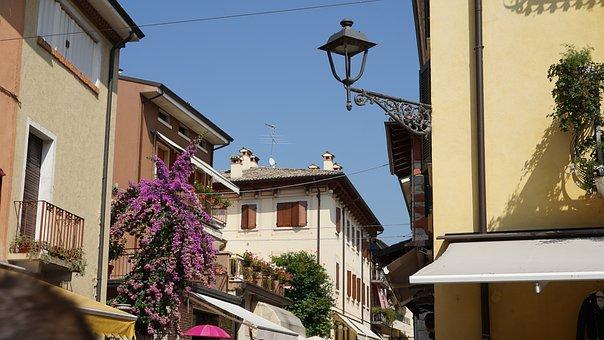 Bardolino, Garda, Architecture, Italy, Historically