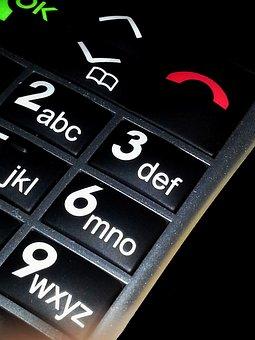 Mobile Phone, Keys, Elderly Cell Phone, Phone