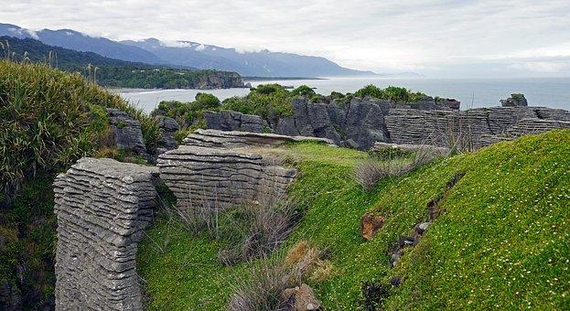 Pancake Rocks, New Zealand, West Coast, South Island