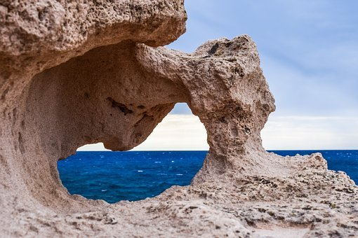 Rock Formation, Erosion, Window, Nature, Geology