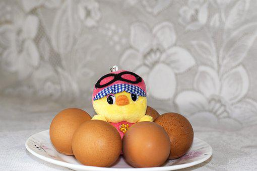 Easter, Easter Eggs, Chicken, Toy, Holiday