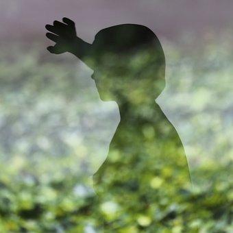 Reflection, Wild, Girl, Sculpture, Xavier Veilhan