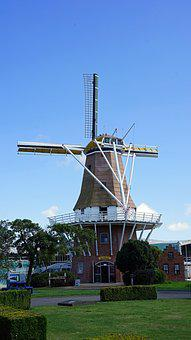 Windmill, Museum, Historically, Mill, Wing, Building
