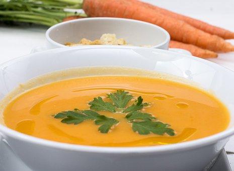 Carrots Soup, Fresh Soup, Food, Soup, Carrot, Fresh
