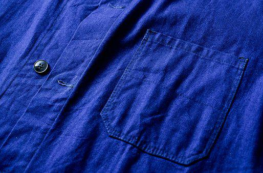 The Work, Clothing, Blue