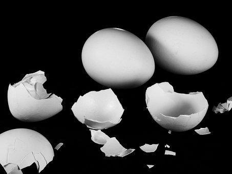 Egg, Hen's Egg, Eggshell, Nutrition, Food, Eat, Dine