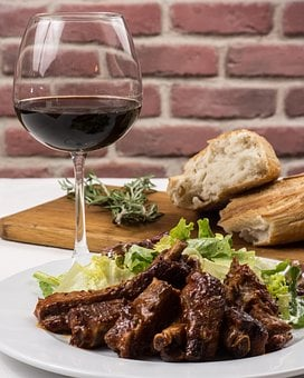 Pork Ribs, Dinner, Pork, Food, Meat, Meal, Bbq