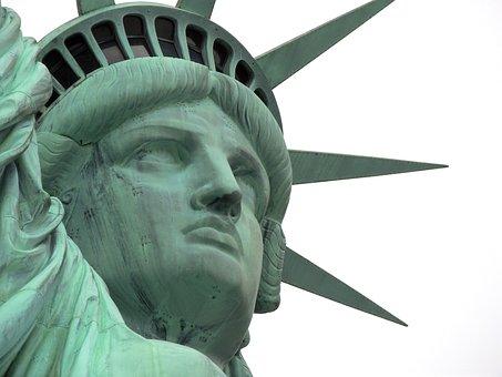Statue, Nyc, New, Liberty, Usa, America, Landmark, York