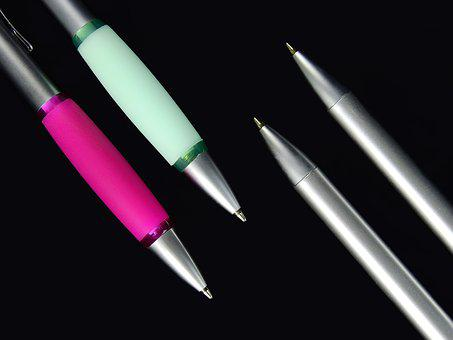 Pen, Schreiber, Writing Implement, Leave, Office