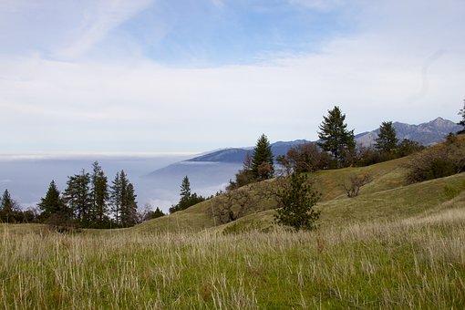 Hills, Nature, Landscape, Sky, Mountain, Outdoor