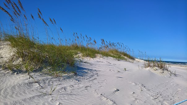 Sand, Dunes, Sky, Outdoor, Beach, America, Travel