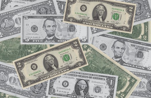 Background, Money, Dollar, Currency, Collage, America