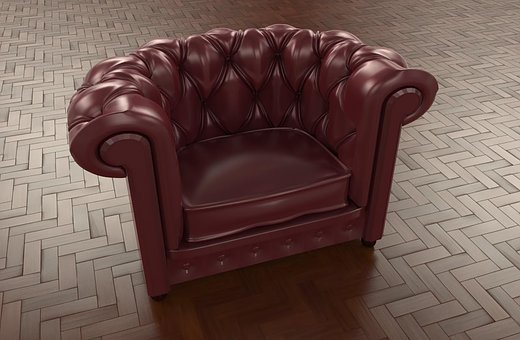 Armchair, Chair, Furniture, Living Room, Interior