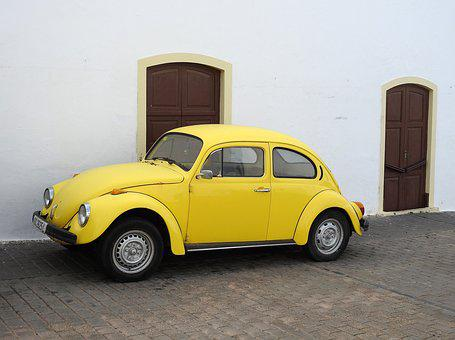 Beetle, Vw, Vw Beetle, Volkswagen, Classic, Old