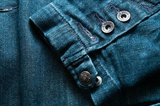 Denim, Clothing, Sleeves