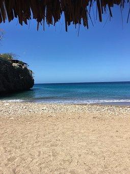 Curacao, Water, Sea, Coast, Landscape, Nature