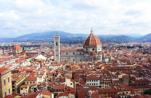 Florence, City, Italy, Il Duomo, Duomo, View, Travel