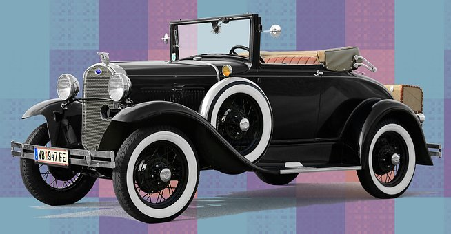 Ford, Convertible, 1930, Oldtimer, Classic, Automotive