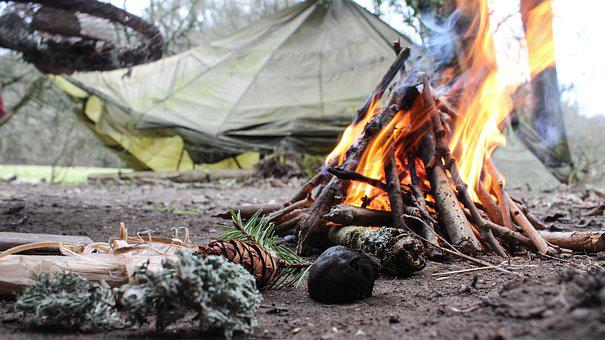 Fire, Camping, Camp, Nature, Campfire, Forest, Outdoor
