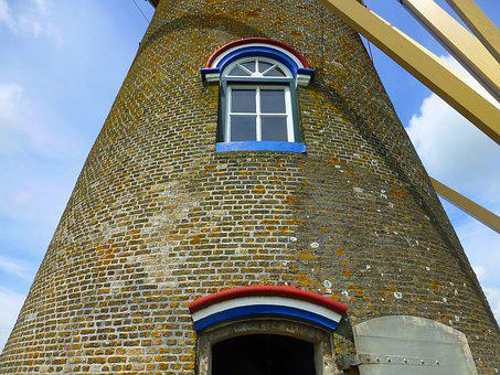Windmill, Holland, Wissenkerke