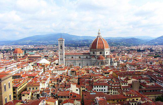 Florence, City, Italy, Il Duomo, Duomo, View, Travel