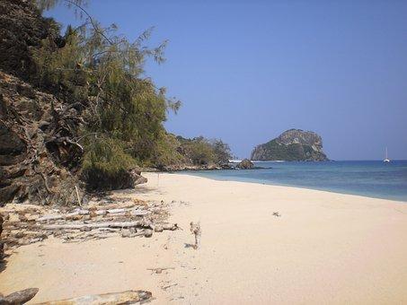 Fiji, South Pacific, Beach, Ocean, Island, South