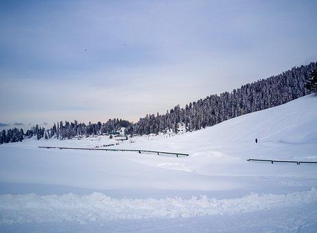 Landscape, View, Himalayas, Kashmir, Sky, Mountains