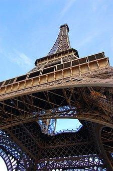 Paris, Eiffel, France, Landscape, Eiffel Tower