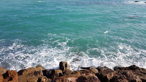 Sea, Coast, Ocean, Coastline, Scenic, Wave, Bay
