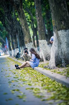 Photoshoot, Photographer, The Park, Lley, Street