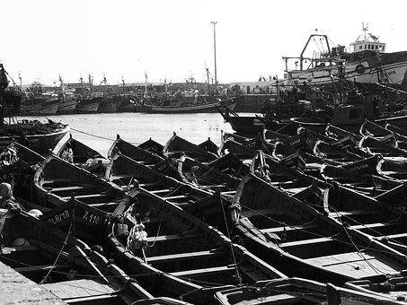 Morocco, Port, Boats