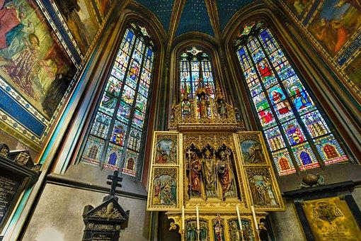 St Vitus, Vitus, Cathedral, Prague, Czech, Church