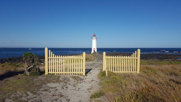 Lighthouse, Ocean, Vacation, Coast, Australia