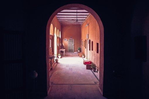 Corridor, Gate, Architecture, Door, Travel, Tunnel