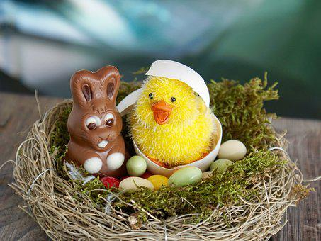 Easter Nest, Easter, Easter Eggs, Egg, Happy Easter