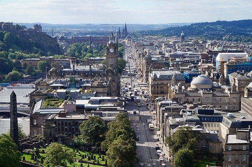 Edinburgh, Scotland, City, Architecture, Uk, Europe
