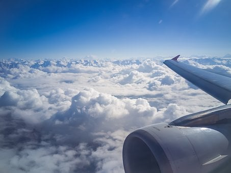 Plane, Window, Window Seat View, View, Himalayas