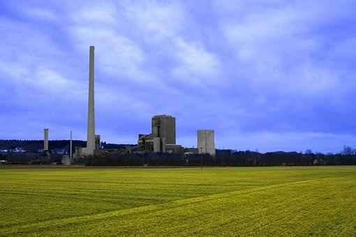 Power Plant, Coal Fired Power Plant, Energy, Industry