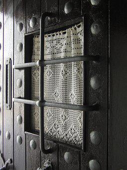 Door, Grating, Architecture, Forged, House, Metal, Iron