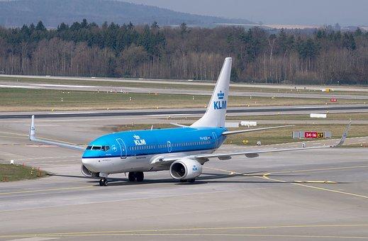 Aircraft, Klm, Boeing 737, Jet, Passenger Aircraft