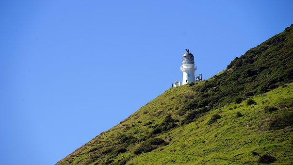 Lighthouse, Bay Of Islands, Island, New Zealand