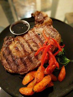 Steak, Meal, Dinner, Food, Meat, Beef, Fillet, Grilled