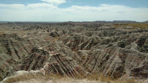 Badlands, Rock, Landscape, Nature, Park, Travel
