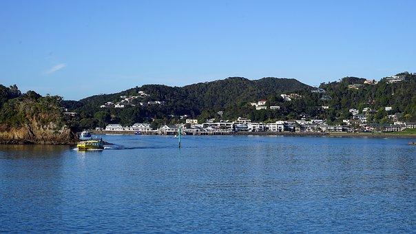 Paihia, New Zealand, Bay Of Islands, North Island