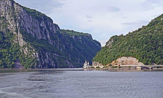 The Iron Gate, Danube Gorge, Karparten, Danube Canyon